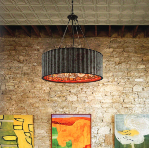 DRUM SHADE PENDANTS