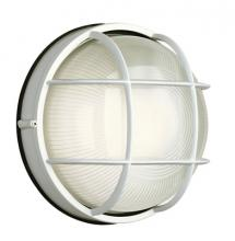 Forecast F9039681NV - One Light Matte White Etched Glass Marine Light
