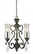 Z-Lite 720-3-GB - 3 Light Chandelier