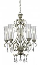 Z-Lite 720-5-AS - 5 Light Chandelier