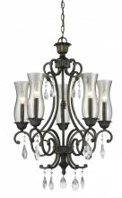 Z-Lite 720-5-GB - 5 Light Chandelier