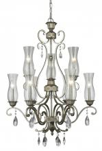 Z-Lite 720-9-AS - 9 Light Chandelier
