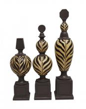 Sterling Industries 87-4943 - SET/3 KILIMANJARO FINIALS
