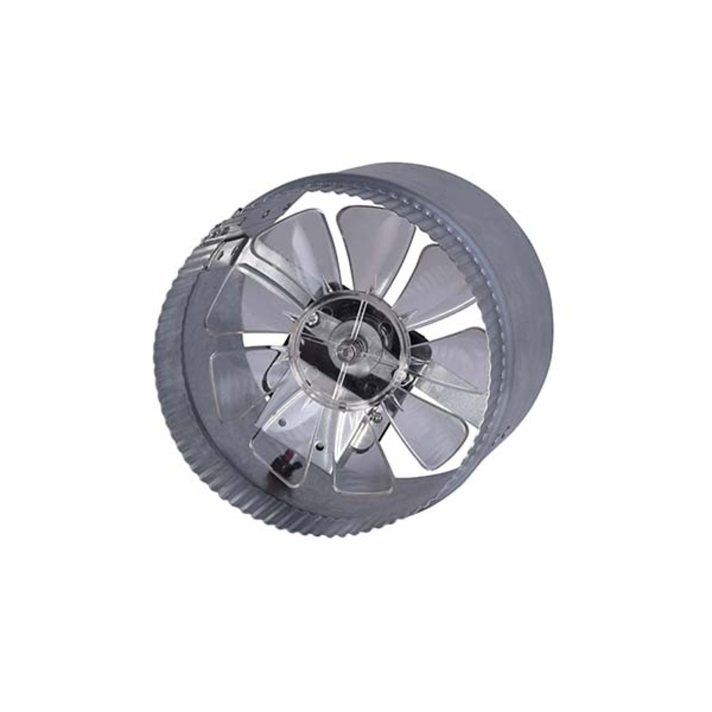 "Duct Fan, DA6V, 2 Speed 6"" Duct Booster Fan, Max Boosted CFM: 295, Free Air CFM: 160/175, dBA/so"