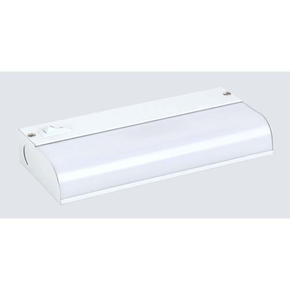 "Fluorescent, FB5101-C, 9 1/8"" Under Cabinet Fluorescent Strip Bar, Direct Wire, 1 Bulb, 6W T5 (I"