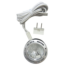 Puck lights undercabinet lighting fixtures marchand electric canarm 35801bpt120 c undercabinet 35801bpt120 c 1 puck 120 volt 20 mozeypictures Gallery