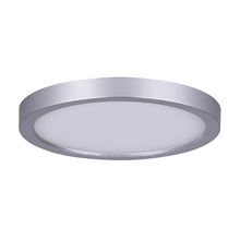 "Canarm LED-SM55DL-BN-C - LED Disk, LED-SM55DL-BN-C, 5.5"" Painted Pewter Color Trim, 12W Dimmable, 3000K, 660 Lumen, Surfa"
