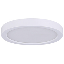 "Canarm LED-SM55DL-WT-C - LED Disk, LED-SM55DL-WT-C, 5.5"" White Color Trim, 12W Dimmable, 3000K, 660 Lumen, Surface Mounte"