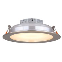 "Canarm LED-SR6P-BN-C - LED Recess Downlight,  LED-SR6P-BN-C, 6"" Brushed Nickel Trim, 15W Dimmable, 3000K, 860 Lumen, Re"