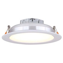 "Canarm LED-SR6P-WT-C - LED Recess Downlight,  LED-SR6P-WT-C, 6"" White Color Trim, 15W Dimmable, 3000K, 860 Lumen, Reces"
