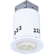 Canarm RD3DCWH-LED-4 - Recessed, RD3DCWH-LED-4, 4-Pack, IC and Non-IC REMODEL, Gimbal Trim, 4 x Bymea 7.5W 500Lumen 3000K G