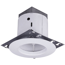 "Canarm RN5NCOTWH - Recessed,RN5NCOT WH, 5"" Non-Insulated with Open Trim, New Construction, Medium Base, 65W (BR30 o"