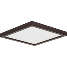 "Canarm LED-SM63DL-ORB-C - LED Disk, LED-SM63DL-ORB-C, 6.28"" ORB Square Trim, 13W Dimmable, 3000K, 720 Lumen, Surface Mount"