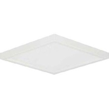 "Canarm LED-SM63DL-WT-C - LED Disk, LED-SM63DL-WT-C, 6.28"" White Color Square Trim, 13W Dimmable, 3000K, 720 Lumen, Surfac"