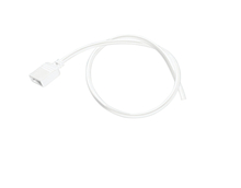 Kichler 2SLW2WH - 2' Damp Supply Lead (No DC)