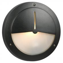 Galaxy Lighting 305073BK - Cast Aluminum Outdoor Marine Light - in Black finish w/ Frosted Glass