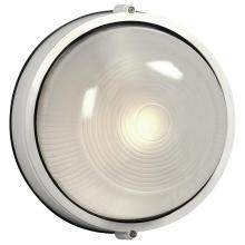 Galaxy Lighting 305111 WH - Cast Aluminum Marine Light - White W/ Frosted Glass