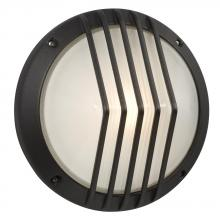 Galaxy Lighting 320320BK - Marine Light - Black with Frosted Glass