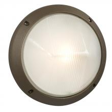 Galaxy Lighting 320340BZ - Marine Light - Bronze with Frosted Glass