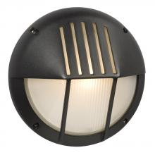 Galaxy Lighting 320360BK - Marine Light - Black with Frosted Glass