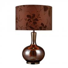 Dimond D1603 - Fairview 1 Light Table Lamp In Bronze And Coffee Plating